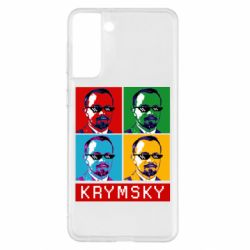 Чохол для Samsung S21+ Pop man krymski