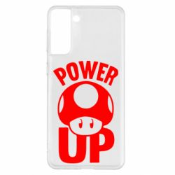 Чохол для Samsung S21+ Power Up Маріо гриб