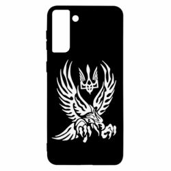 Чохол для Samsung S21+ Птах та герб