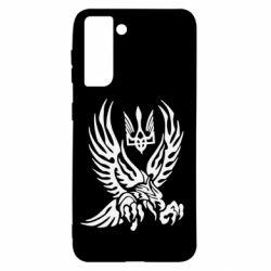 Чохол для Samsung S21 Птах та герб