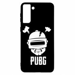 Чехол для Samsung S21+ PUBG: hero face