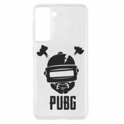 Чехол для Samsung S21 PUBG: hero face