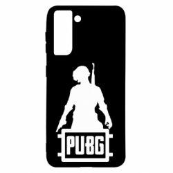 Чехол для Samsung S21 PUBG logo and hero