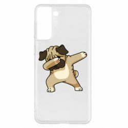 Чохол для Samsung S21+ Pug Swag