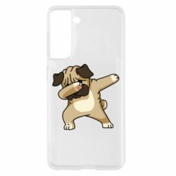 Чохол для Samsung S21 Pug Swag