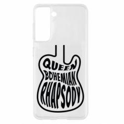 Чохол для Samsung S21 Queen Bohemian Rhapsody