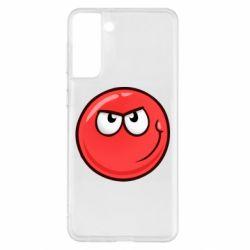 Чехол для Samsung S21+ Red Ball game