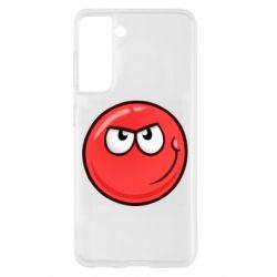 Чехол для Samsung S21 Red Ball game