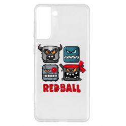 Чохол для Samsung S21+ Red ball heroes