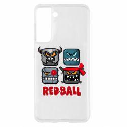 Чохол для Samsung S21 Red ball heroes