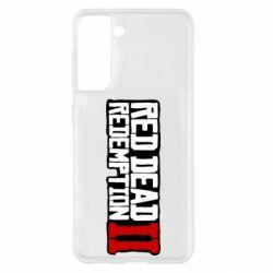 Чохол для Samsung S21 Red Dead Redemption logo