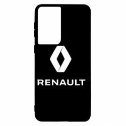 Чохол для Samsung S21 Renault logotip