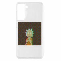 Чохол для Samsung S21 Rick Fck Hologram