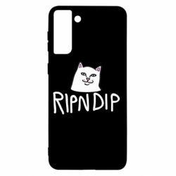 Чохол для Samsung S21+ Ripndip and cat