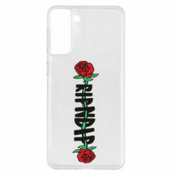 Чехол для Samsung S21+ RipnDip rose