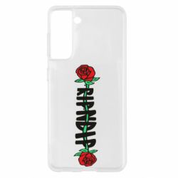 Чехол для Samsung S21 RipnDip rose
