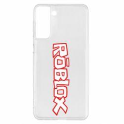 Чохол для Samsung S21+ Roblox logo