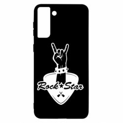 Чохол для Samsung S21+ Rock star gesture