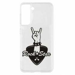Чохол для Samsung S21 Rock star gesture