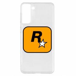 Чохол для Samsung S21+ Rockstar Games logo