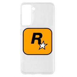 Чохол для Samsung S21 Rockstar Games logo