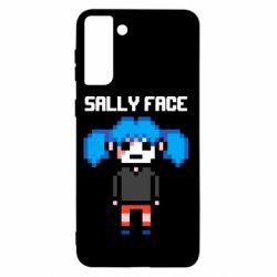Чохол для Samsung S21+ Sally face pixel