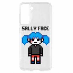 Чохол для Samsung S21 Sally face pixel
