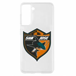 Чохол для Samsung S21 San Jose Sharks
