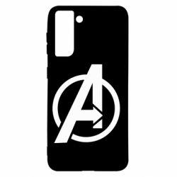 Чохол для Samsung S21 Сaptain Аmerica logo