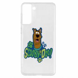 Чехол для Samsung S21+ Scooby Doo!