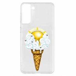 Чохол для Samsung S21+ Sea ice cream