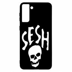 Чехол для Samsung S21+ Sesh skull