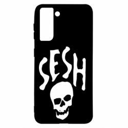 Чехол для Samsung S21 Sesh skull
