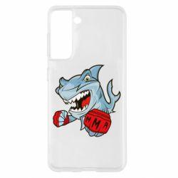 Чохол для Samsung S21 Shark MMA