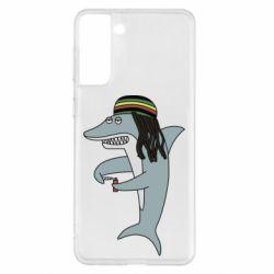Чохол для Samsung S21+ Shark Rastaman