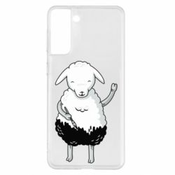 Чохол для Samsung S21+ Sheep