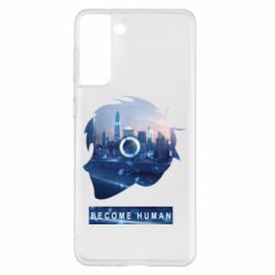 Чохол для Samsung S21+ Silhouette City Detroit: Become Human