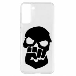 Чехол для Samsung S21+ Skull and Fist