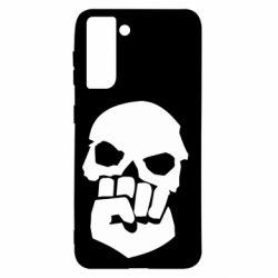 Чехол для Samsung S21 Skull and Fist