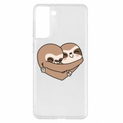 Чохол для Samsung S21+ Sloth lovers