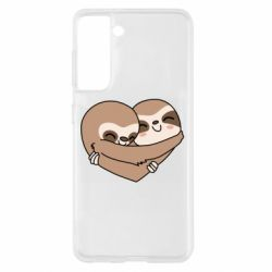 Чохол для Samsung S21 Sloth lovers