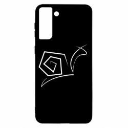 Чохол для Samsung S21+ Snail minimalism