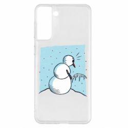 Чохол для Samsung S21+ Snowman. It's Cold!