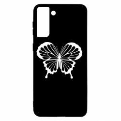 Чохол для Samsung S21+ Soft butterfly