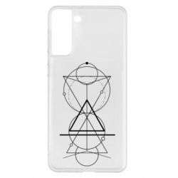 Чохол для Samsung S21+ Сomposition of geometric shapes