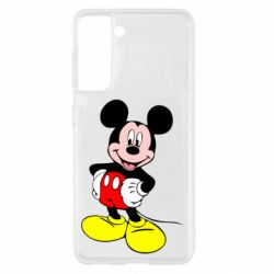 Чохол для Samsung S21 Сool Mickey Mouse