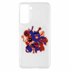 Чохол для Samsung S21 Сool sticker