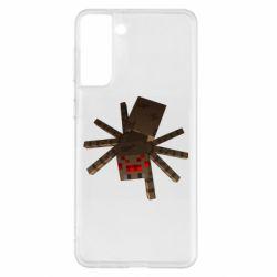 Чохол для Samsung S21+ Spider from Minecraft