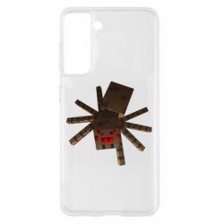 Чохол для Samsung S21 Spider from Minecraft