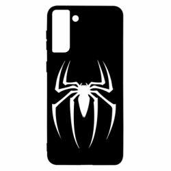 Чехол для Samsung S21+ Spider Man Logo